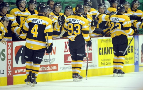 of the Kingston Frontenacs. Photo by Aaron Bell/OHL Images