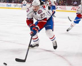 AHL: FEB 21 Binghampton Senators v Hamilton Bulldogs