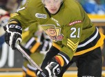 Nick Paul of the North Bay Battalion. Photo by Terry Wilson/OHL Images.