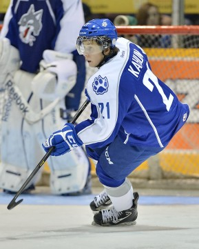 Dominik Kahun will be key fixture of Germany's offense (Terry Wilson/OHL Images)
