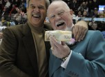 Don Cherry and Bobby Orr after the Home Hardware CHL/NHL Top Prospects Game (Photo by Aaron Bell/CHL)