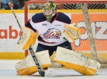 Evan Cormier of the Saginaw Spirit. Photo by Terry Wilson/OHL Images.