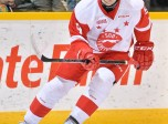 Zachary Senyshyn of the Sault Ste. Marie Greyhounds. Photo by Terry Wilson/OHL Images.
