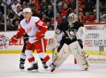 NHL: MAR 20 Penguins at Red Wings