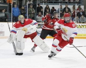 Exhibition Game 3-  Russia vs Team Canada West at the 2015 World Junior A Challenge