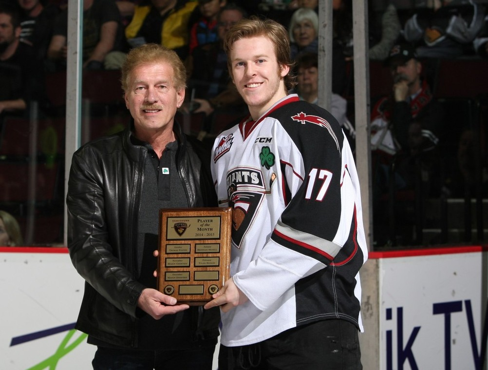 Tyler Benson player of the month