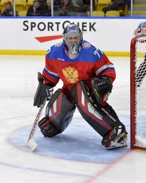 Game #4 - Russia vs. Canada East at the 2015 World Junior A Challenge