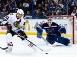 NHL: APR 13 Round 1 - Game 1 - Blackhawks at Blues