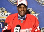 Givani Smith at the 2016 NHL Draft in Buffalo, NY on Saturday June 25, 2016. Photo by Aaron Bell/CHL Images