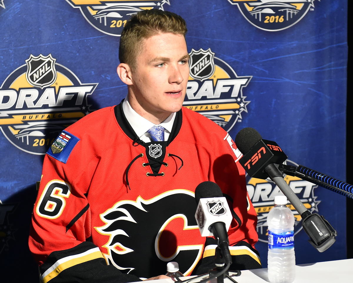 Nhl Draft Review And Grades Calgary Flames Mckeen S Hockey