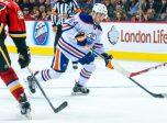 September 21, 2015: Edmonton Oilers Defenceman Joey LaLeggia (84)