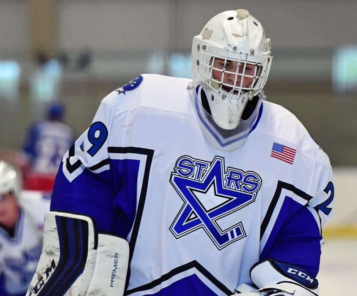 Cayden Primeau, Lincoln Stars, photo by Hickling Images