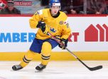 MONTREAL, CANADA - DECEMBER 26: Sweden's Jonathan Dahlen #27 skates during preliminary round action against Denmark at the 2017 IIHF World Junior Championship. (Photo by Andre Ringuette/HHOF-IIHF Images)