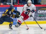 Cale Makar for the Brooks Bandits. Photos byEmily Duncan / Brooks Bandits