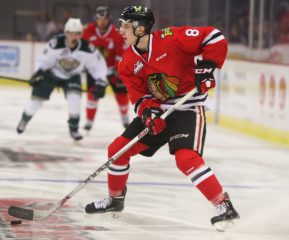 Cody Glass of the Portland Winterhawks