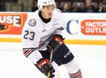 Jack Studnicka of the Oshawa Generals. Photo by Aaron Bell/OHL Images