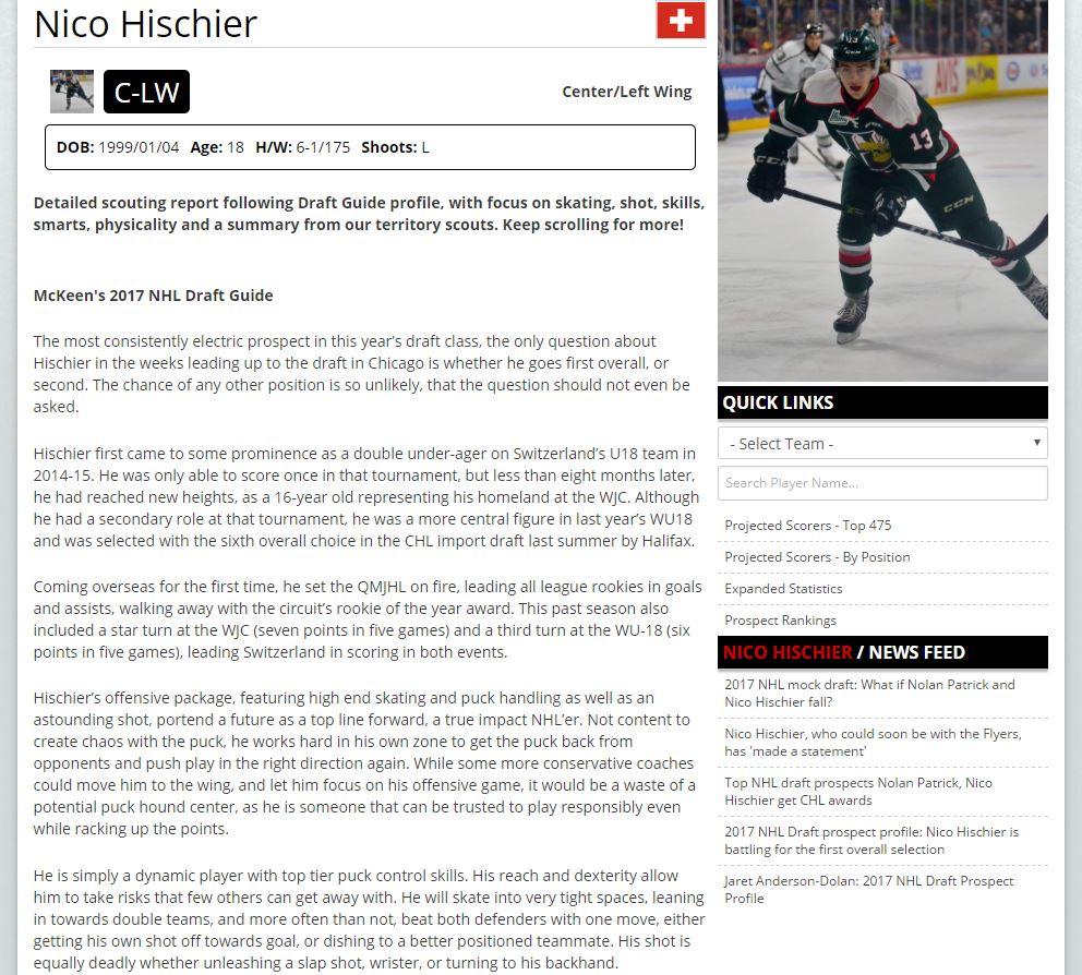 Nico Hischier 1