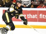 Adam Ruzicka of the Sarnia Sting. Photo by Aaron Bell/OHL Images