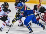 Ivan Hlinka - Barrett Hayton - Canada - Matthew Verboon - Sweden