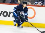 WINNIPEG, MB Ð April 08: Jets Kyle Connor (81) skates with the puck during the NHL game between the Winnipeg Jets and the Nashville Predators on April 08, 2017 at the MTS Centre in Winnipeg MB. (Photo by Terrence Lee/Icon Sportswire)