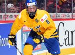 MONTREAL, CANADA - JANUARY 5: Sweden's Rasmus Dahlin #8 skates during bronze medal game action against Russia at the 2017 IIHF World Junior Championship. (Photo by Matt Zambonin/HHOF-IIHF Images)