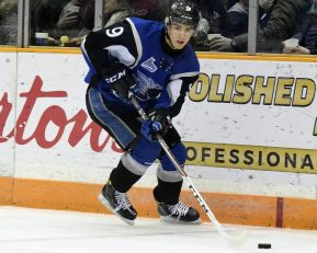 Joe Veleno, Saint Johns, photo courtesy of the QMJHL