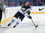BUFFALO, NEW YORK - DECEMBER 28: Rasmus Kupari. Finland vs Denmark preliminary round 2018 IIHF World Junior Championship. (Photo by Matt Zambonin/HHOF-IIHF Images)