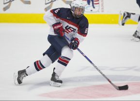 Quinn Hughes. Photo Courtesy of Rena Laverty/USNTDP.