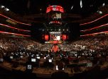 CHICAGO, IL - JUNE 23: The United Center during the first round of the 2017 NHL Draft on June 23, 2017, at the United Center in Chicago, IL. (Photo by Daniel Bartel/Icon Sportswire)