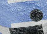Finnish flag on ice