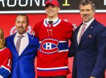 DALLAS, TX - JUNE 22: The Montreal Canadians draft Jesperi Kotkaniemi in the first round of the 2018 NHL draft on June 22, 2018 at the American Airlines Center in Dallas, Texas. (Photo by Matthew Pearce/Icon Sportswire)