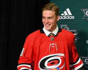 Images from the 2018 NHL Draft in Dallas, Texas on Friday June 22, 2018. Photo by Aaron Bell/CHL Images