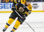 04 February 2016: Boston Bruins left wing Brad Marchand (63) in action during an NHL game between the Boston Bruins and Buffalo Sabres at the First Niagara Center in Buffalo, NY. (Jerome Davis/Icon Sportswire)