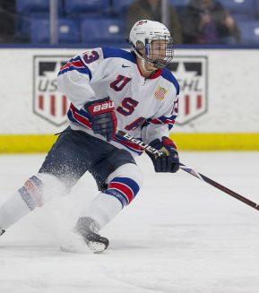 Trevor Zegras. Photo by Rena Laverty/USA Hockey