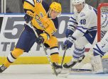 Petr Cajka of the Erie Otters. Photo by Terry Wilson / OHL Images.