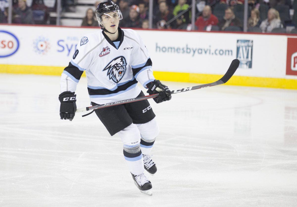 Peyton Krebs. Photo by Robert Murray/WHL