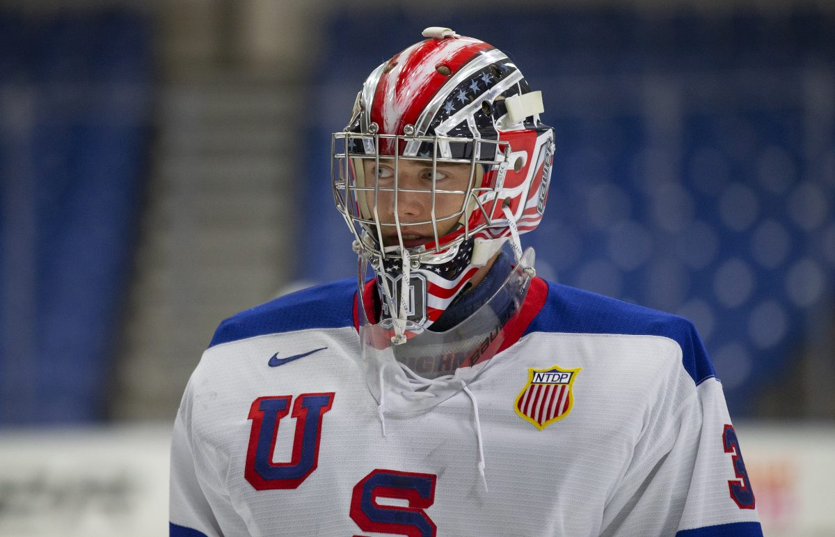 Spencer Knight. Photo courtesy of the USNTDP.
