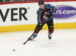 Colorado Avalanche defenseman Cale Makar (8)  (Photo by Russell Lansford/Icon Sportswire)