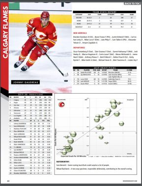 Calgary Flames Team page