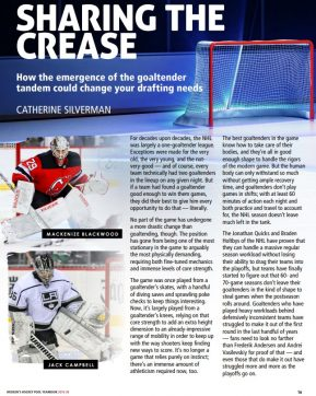 McKeens 2019-20 Yearbook Sharing the Crease