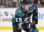 Anaheim Ducks Right Wing Ondrej Kase (25) (Photo by Jeanine Leech/Icon Sportswire)
