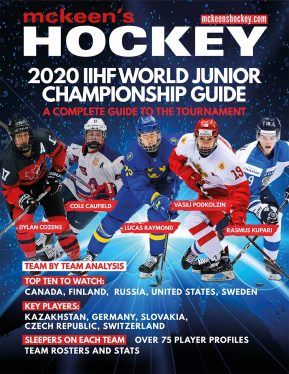 McKeens 2020 IIHF World Junior Championship Guide Cover low res