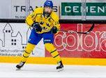 190207 Sveriges Daniel Ljungman under U17 landskampen i ishockey mellan Sverige och Ryssland den 7 februari 2019 i Tranås. Foto: Jonas Ljungdahl / BILDBYRÅN / Kod JO / Cop 144