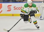 Connor McMichael of the London Knights. Photo by Terry Wilson / OHL Iimages.