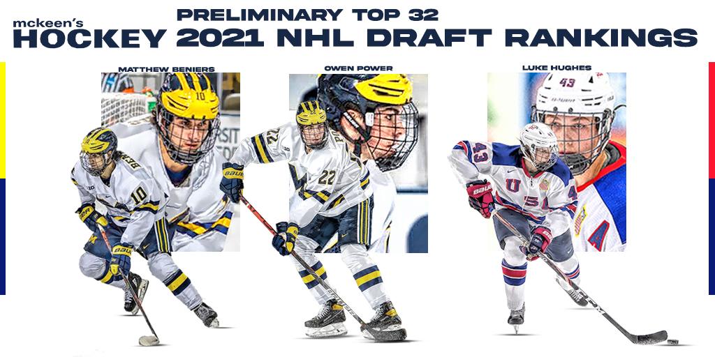 2021 NHL Draft Ranking